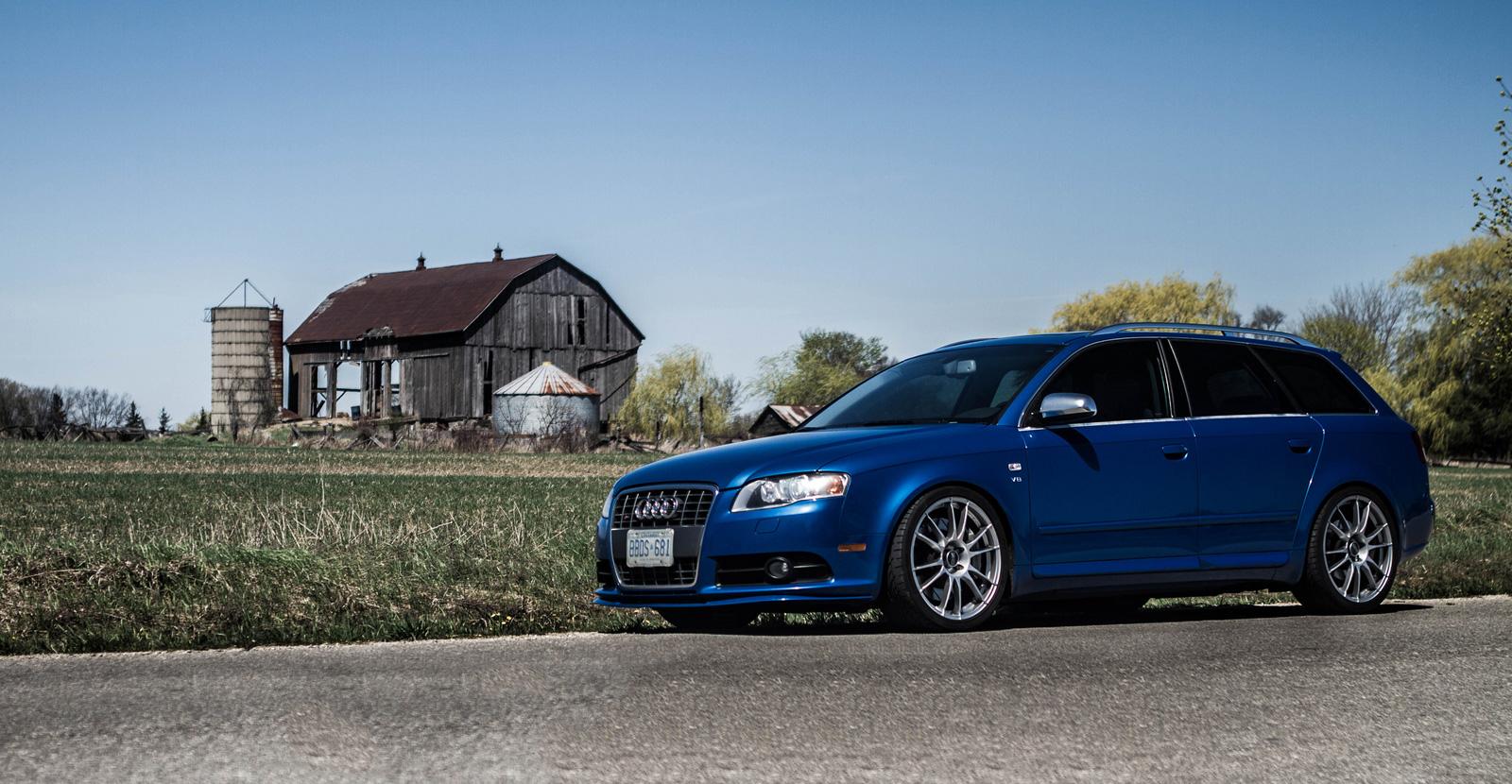 B7 Audi S4 Avant