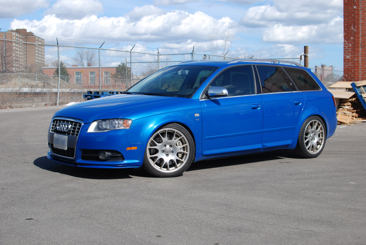 Audi S4 0 60 2 >> Just installed colour matched Cupra Lip - Sprint Blue